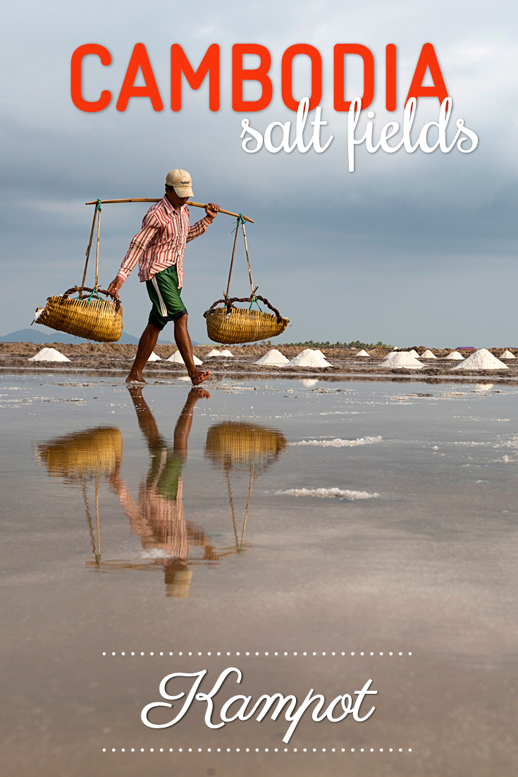 Cambodia salt fields