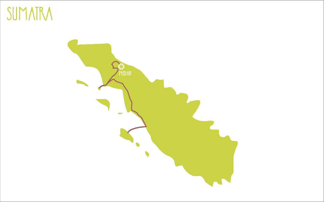 sumatra itinerary