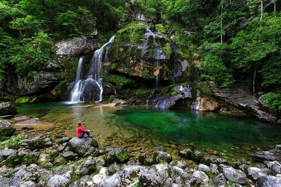 Best waterfalls in Soča Valley » Family Corel Adventures